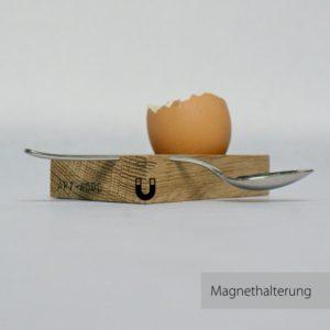 Eierbecher æichen von Art-WooD mit Magnethalterung