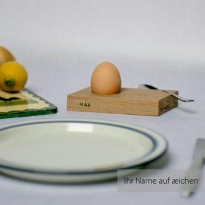 Eierbecher æichen mit Ihrem Namen von Art-WooD