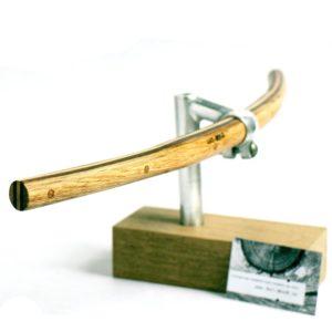 Holzlenker für dein Fahrrad zur Griff Montage Modell »Wolfgang« | Art-WooD