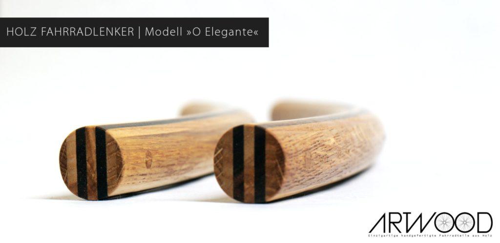 Holz Fahrradlenker O Elegante in gebogener Form von Art-WooD