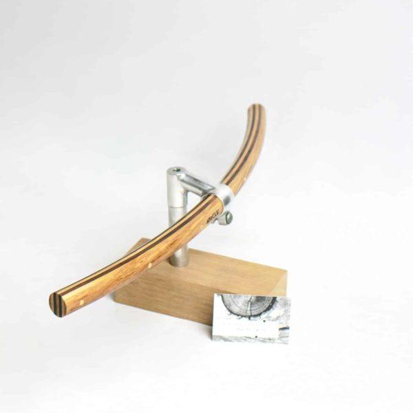 Fahrradlenker »Wilhelm« aus Holz in gebogener Form von Art-WooD