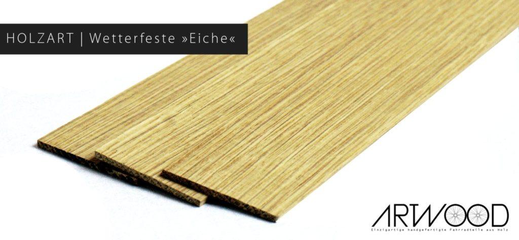 Die Holzart für das Holzschutzblech von Art-WooD
