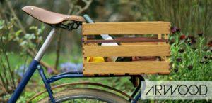 Holz Fahrradkiste »Kosima« von Art-WooD