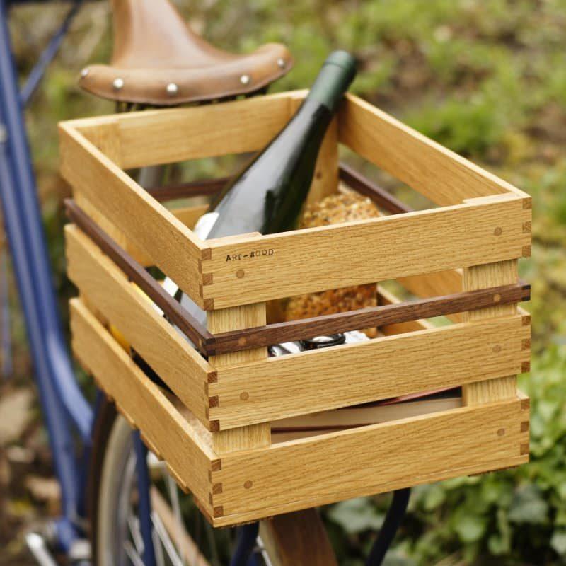 Holz Fahrradkiste Kosima von Art-WooD