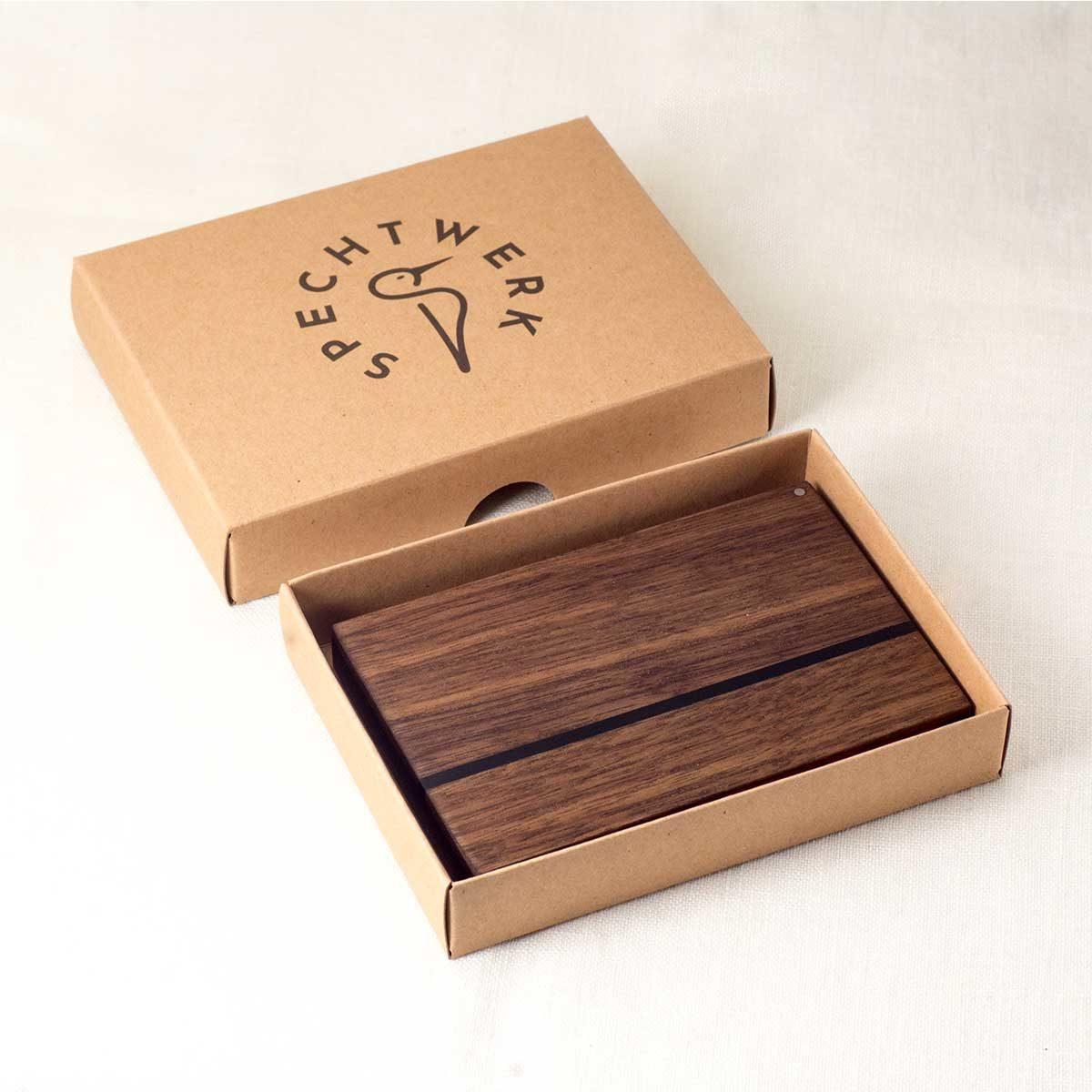 Visitenkartenetui Verpackung im SPECHTWERK® Karton