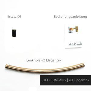 Lieferumfang Fahrrad Holzlenker Modell »Wilhelm« von Art-WooD