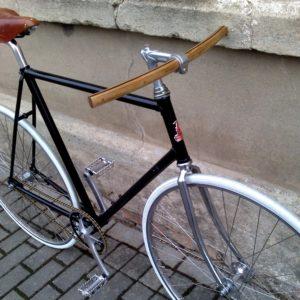 Holz Fahrradlenker »Wilhelm« im Einsatz