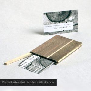 Holz Visitenkarten Etui Modell »Akemi«