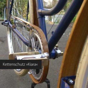 Holz Kettenschutz für dein Fahrrad von Art-WooD