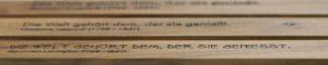 Lasergravur Visitenkartenetui Nussbaum Holz
