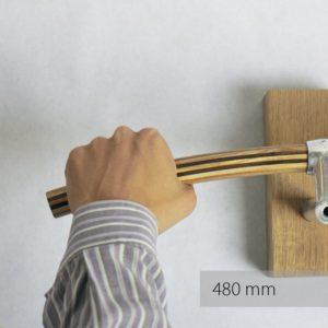 Fahrradlenker O Elegante aus Holz von Art-WooD - Länge 480mm