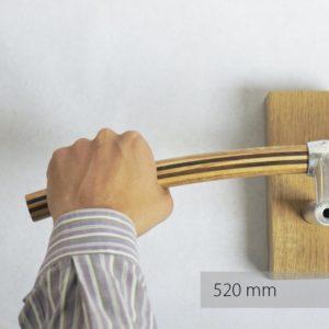 Fahrradlenker O Elegante aus Holz von Art-WooD - Länge 520mm