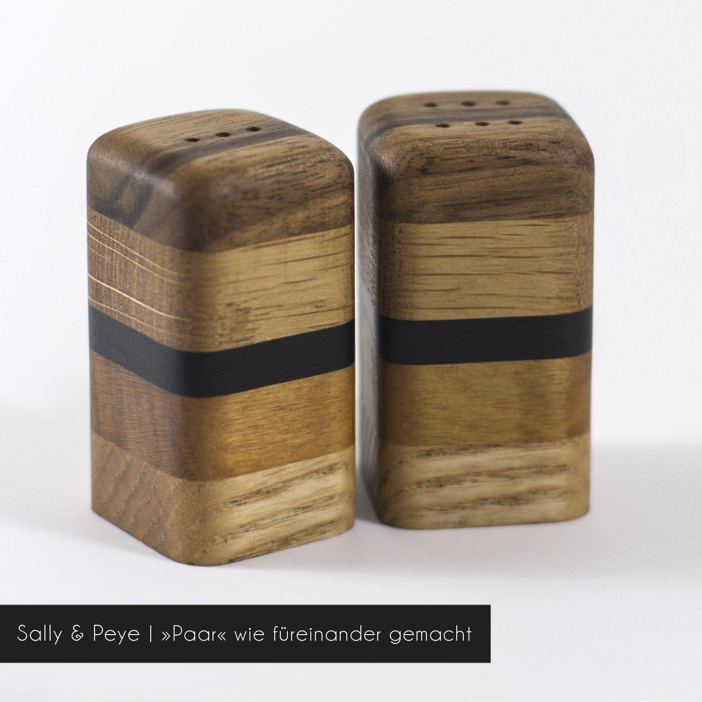 salz und pfefferstreuer sally peye art. Black Bedroom Furniture Sets. Home Design Ideas