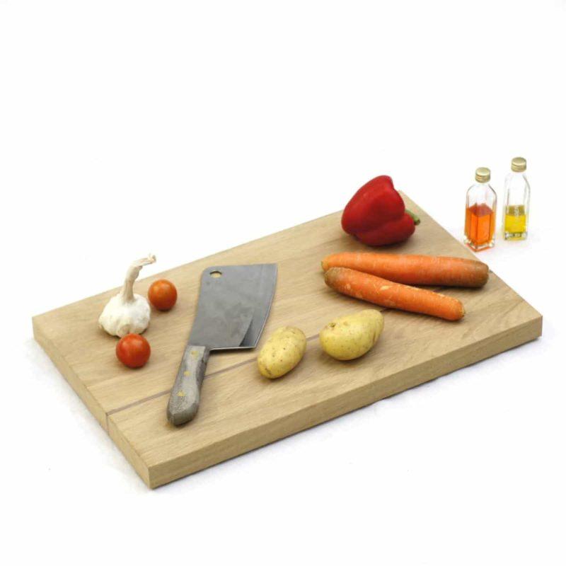 Schneidebrett aus Holz für die Küche. Modell »Clarissa«.