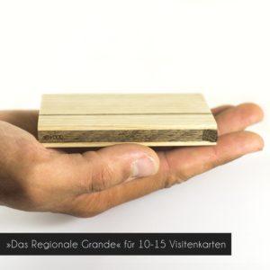 Holz Visitenkartenetui »Sophie Grande« mit einem Fassungsverögen ca. 10-15 Visitenkarten