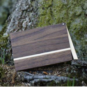 Holz Visitenkartenetui Modell »Akemi«
